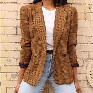 Vintage Wool Blazer.